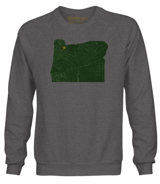 Portland Soccer Crewneck , Homeslice Sweatshirt by Grafletics