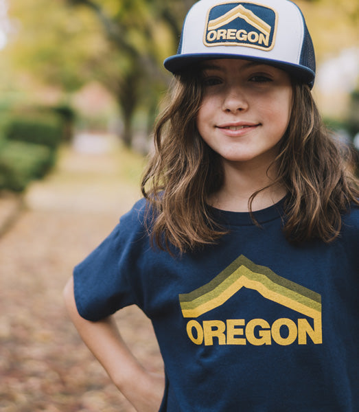 Oregon Kids T-Shirt inspired by Mt. Hood