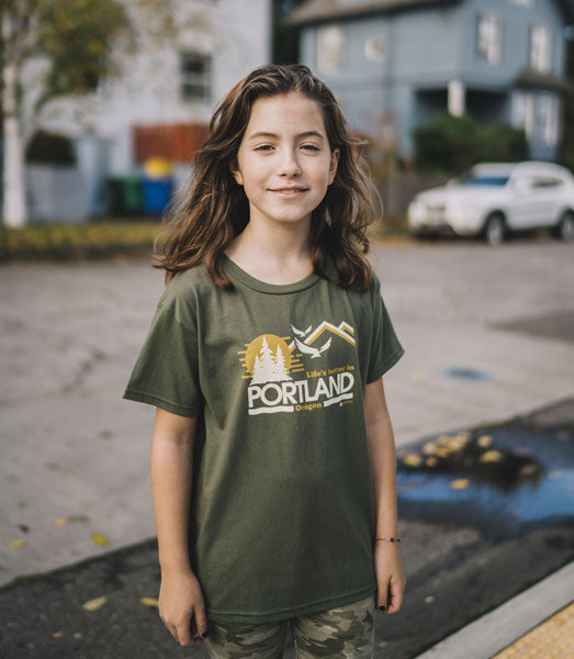 Kids Life's Better in Portland T-Shirt