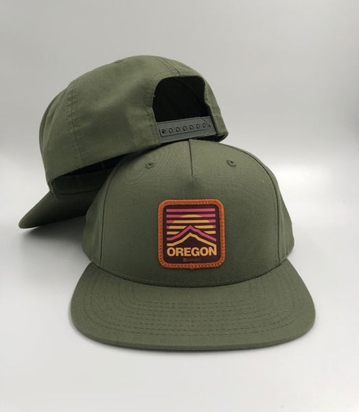 Oregon hat inspired by Mt. Hood