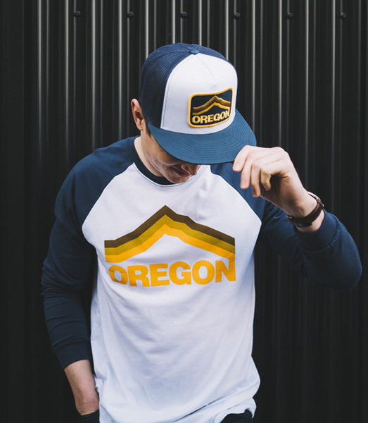Oregon Mt. Hood T-Shirt by Grafletics