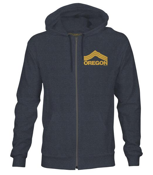 Oregon Mt. Hoodie by Grafletics
