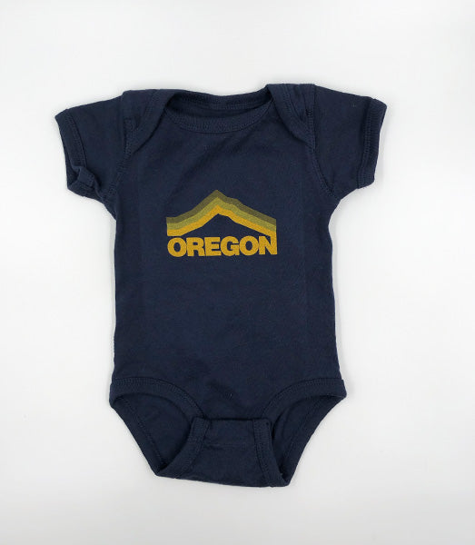 Oregon Mt. Hood Onesie by Grafletics