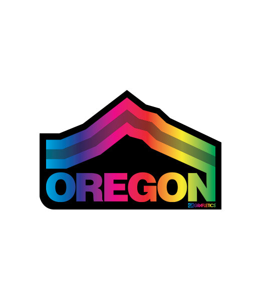 Oregon Mt. Hood Pride Sticker