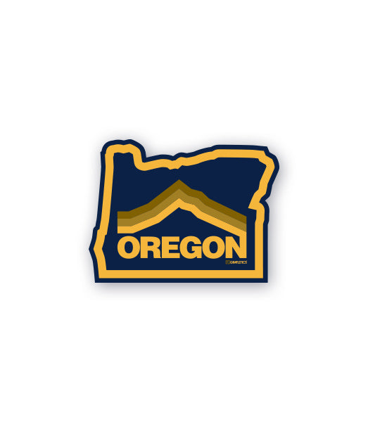 Oregon Mt. Hood Sticker by Grafletics