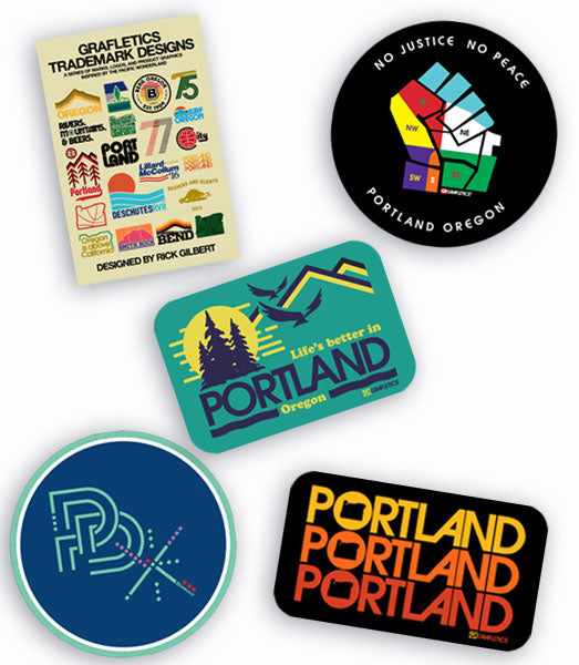 Portland Sticker Pack by Grafletics