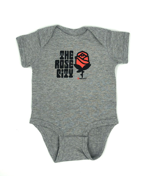 Portland Rose City Onesie by Grafletics