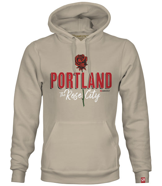 Portland Rose City Hoodie by Grafletics