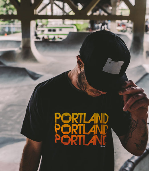 Cool T-Shirts in Portland, Portland Triple Tee