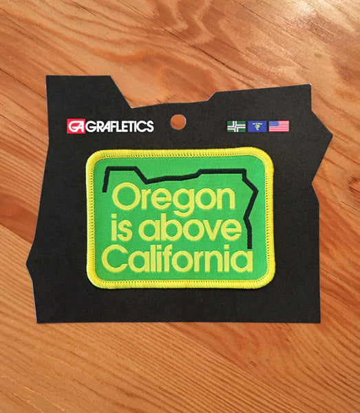Oregon Is Above Patch