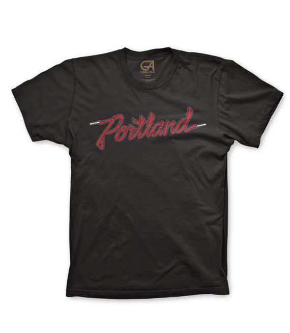 Portland T-Shirt, Sneakertown Tee by Grafletics
