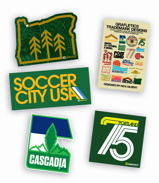 Portland Soccer Sticker Pack