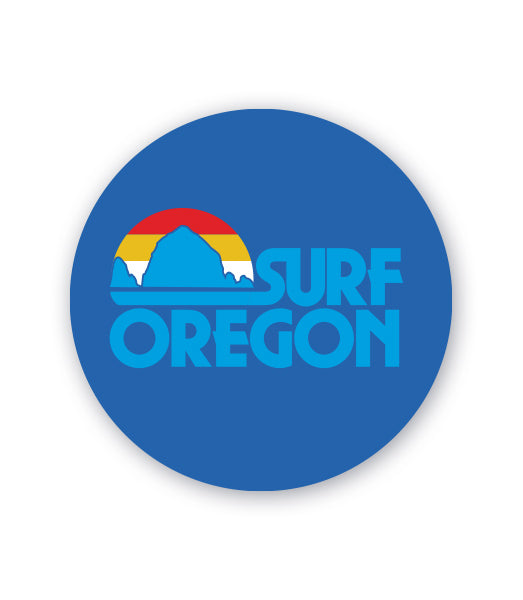 Surf Oregon Sticker by Grafletics
