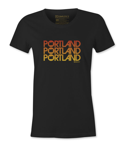 Women's Portland Triple Tee by Grafletics