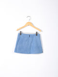 Love Bug Lace & Denim Flat Skirt
