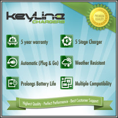 KeyLine Chargers - Fused Ring Terminal Harness -  - 6