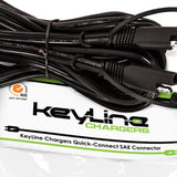 "KeyLine Chargers - 12' 5"" Universal SAE Quick Connect Extension Cable -  - 5"
