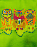 The Owl Motif Scarf