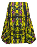 The Print Zipper Skirt