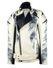 The Feather Print Jacket