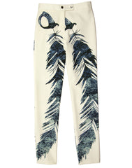 The Feather Print Pant