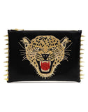 The Leopard Clutch