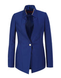 The Double Collar Buttoned Blazer