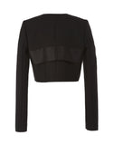 The Peek-a-Boo Eye Slit Jacket with Flaps