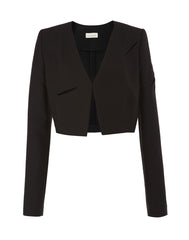 The Peek-a-Boo Eye Slit Jacket