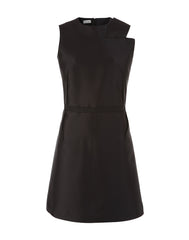 The Asymmetric Neckline Dress