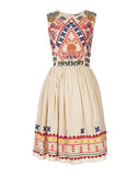 The Baby Doll Embroidered Dress