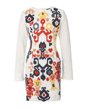 The Long Sleeve Embroidered Dress
