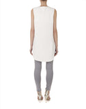 The Sleeveless High Low Tunic