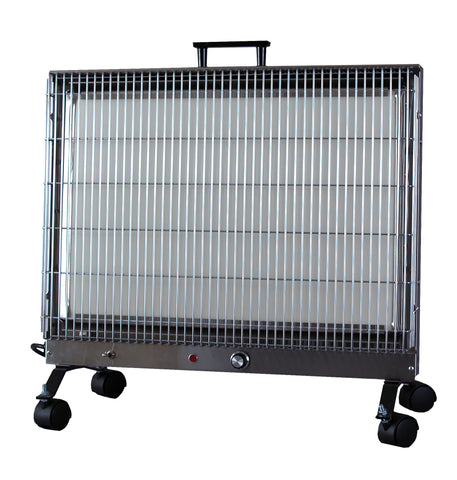 1624P Stainless Steel Portable Heater - The Radiant Heater Store