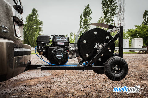 6.5 hp base model winch