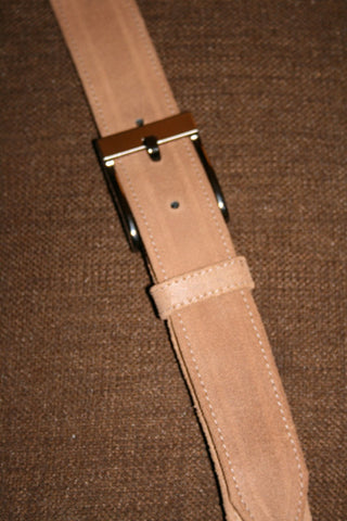 Unisex Wrapped Leather Belt