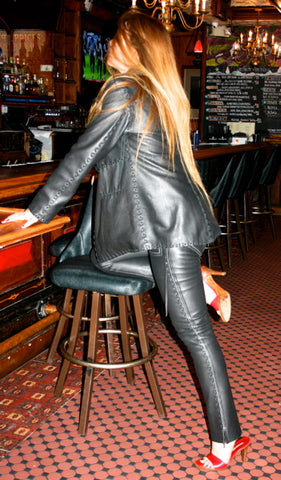 Womens Rock and Roll Leather Suit