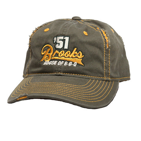 "Brooks' ""Weathered"" Ball Cap"