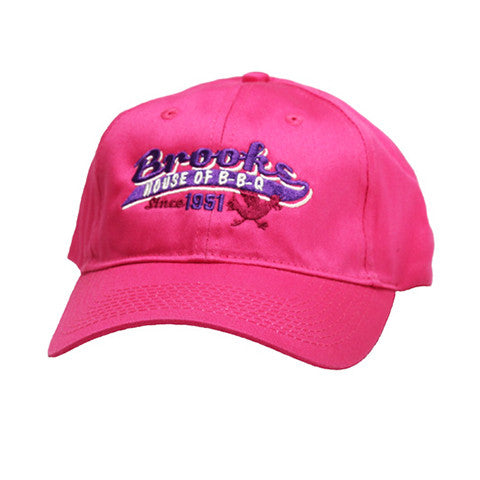 Brooks' Pink Ball Cap