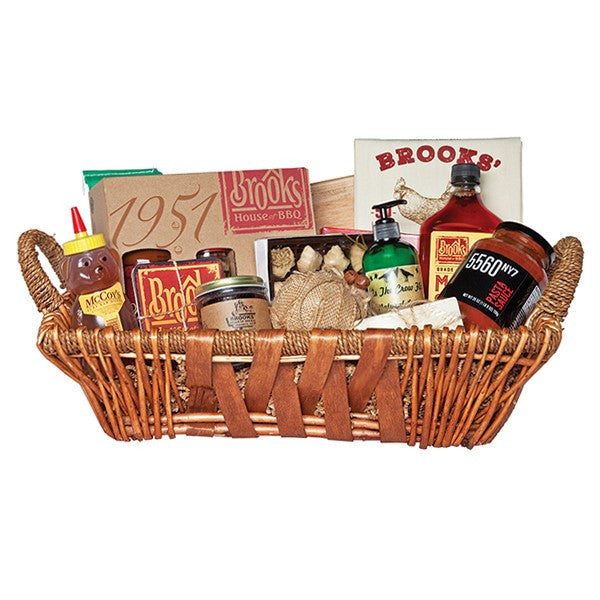 """The Rooster Crows"" Local Area Gift Basket"