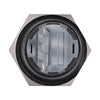 Black Momentary Push Button Automotive Switch 22mm