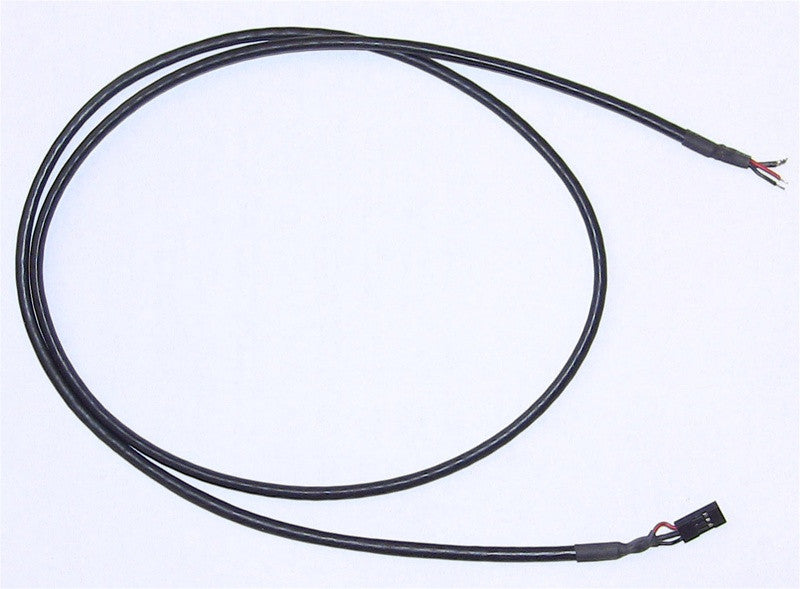 3-pin Female-Bare Shielded Wire