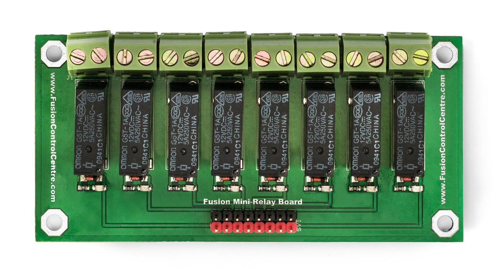 Mini-Relay Board By Fusion Control Centre