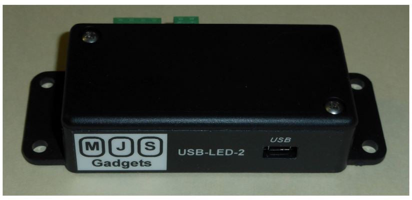 LED Controller RGB USB Interface MJS-USB-LED-2 (Newest Version)