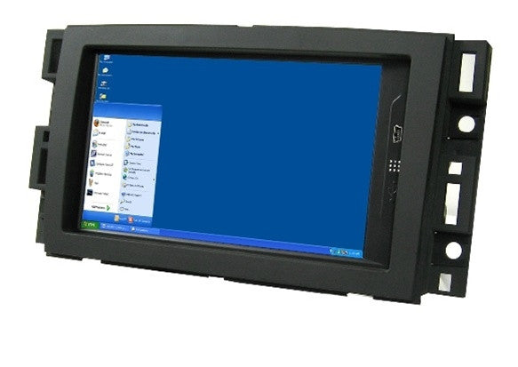 Direct Fit Double Din LCD Touch Screen for 2008 Chevrolet Express Van