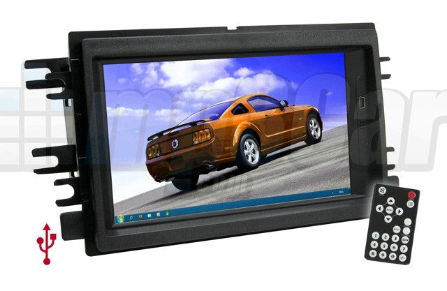 Direct Fit Double Din LCD Touch Screen for 2004-2008 Ford F150