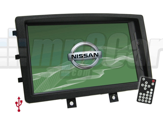 Direct Fit Double Din LCD Touch Screen for 2006-2011 Nissan 350Z