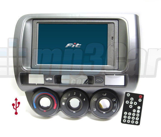 Direct Fit Double Din LCD Touch Screen for 2007-2008 Honda Fit