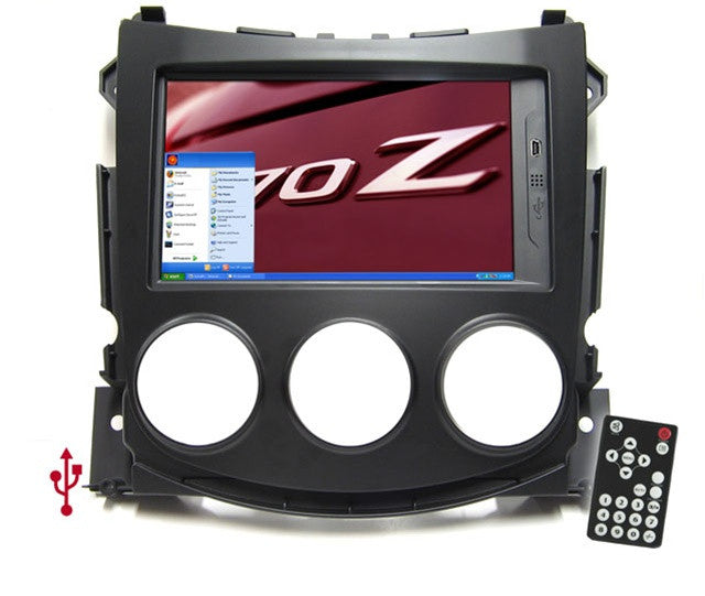 Direct Fit Double Din LCD Touch Screen for 2009-2011 Nissan 370Z