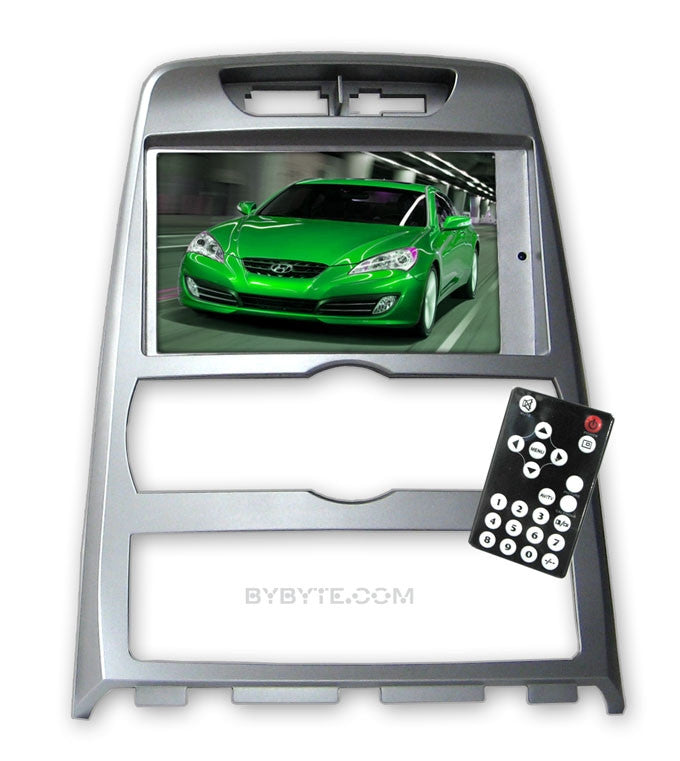 Direct Fit Double Din LCD Touch Screen for 2010 - 2011 Hyundai Genesis Coupe